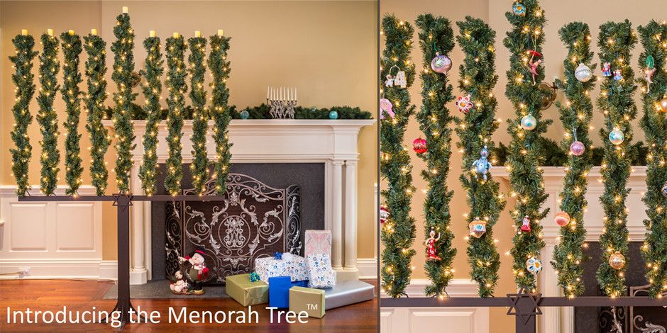 menorah-tree